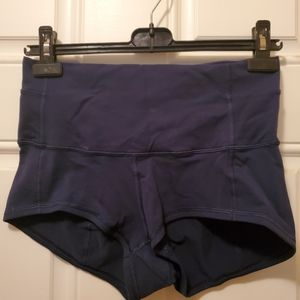 Lululemon Shorts Size 10 Colour Dk Blue